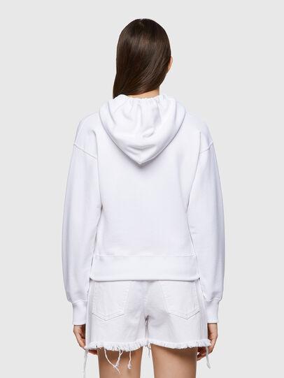 Diesel - F-LYM-HOOD-C.C, White - Sweaters - Image 2