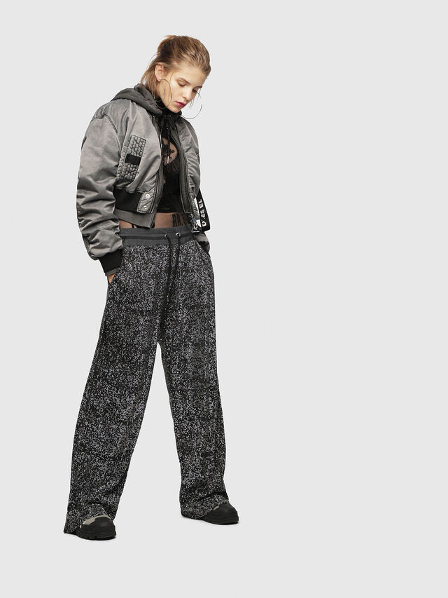 Diesel - P-STRASS, Black/Grey - Pants - Image 4