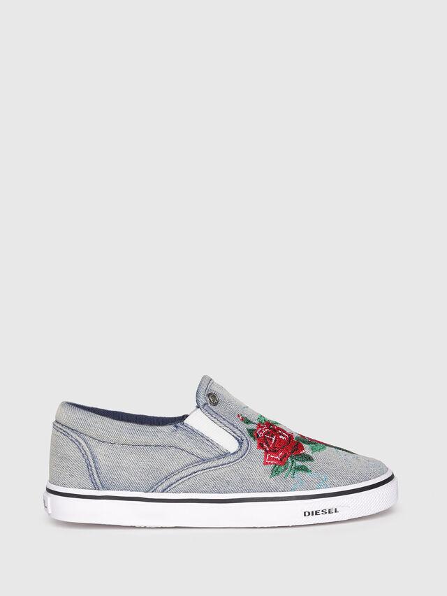 Diesel - SLIP ON 14 ROSE CH, Grey - Footwear - Image 1