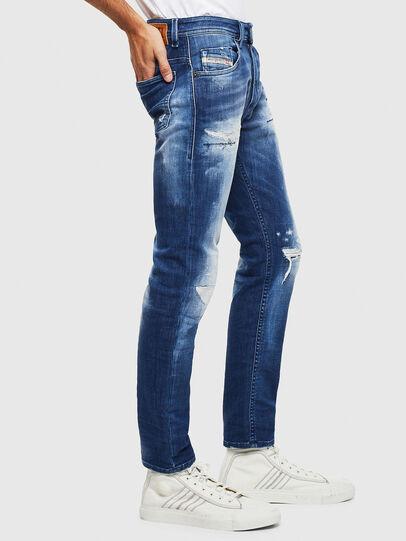 Diesel - Thommer JoggJeans 0099S, Dark Blue - Jeans - Image 4
