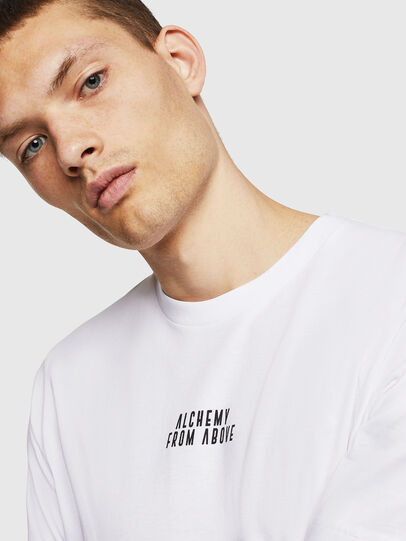 Diesel - T-JUST-A8, White - T-Shirts - Image 3