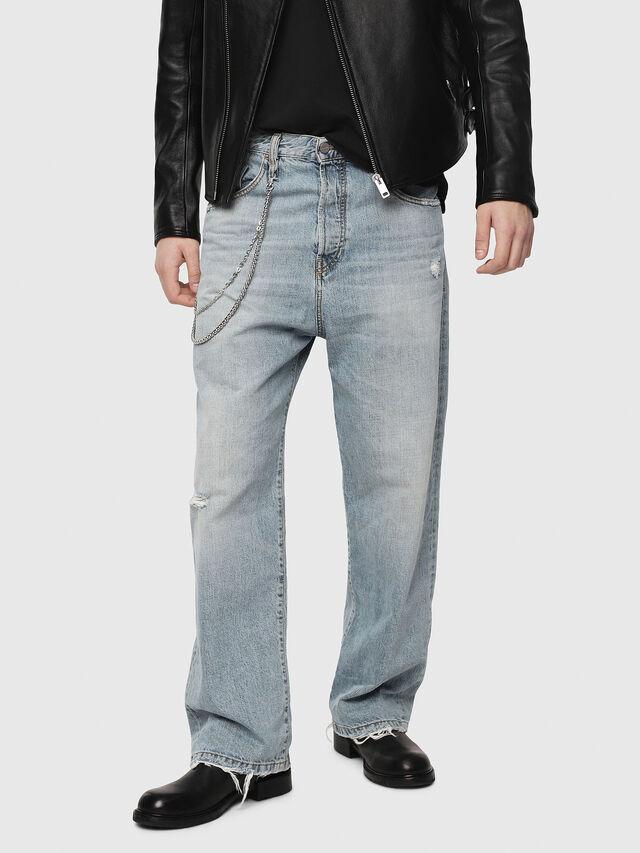 Diesel - D-Vided 080AF, Light Blue - Jeans - Image 1
