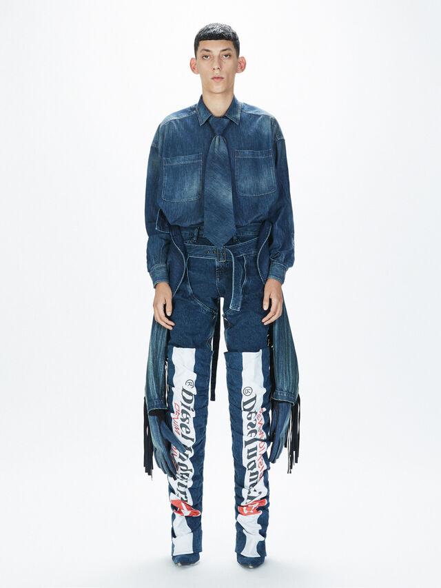 Diesel - SOGLV01-KIT, Blue Jeans - Gloves - Image 7