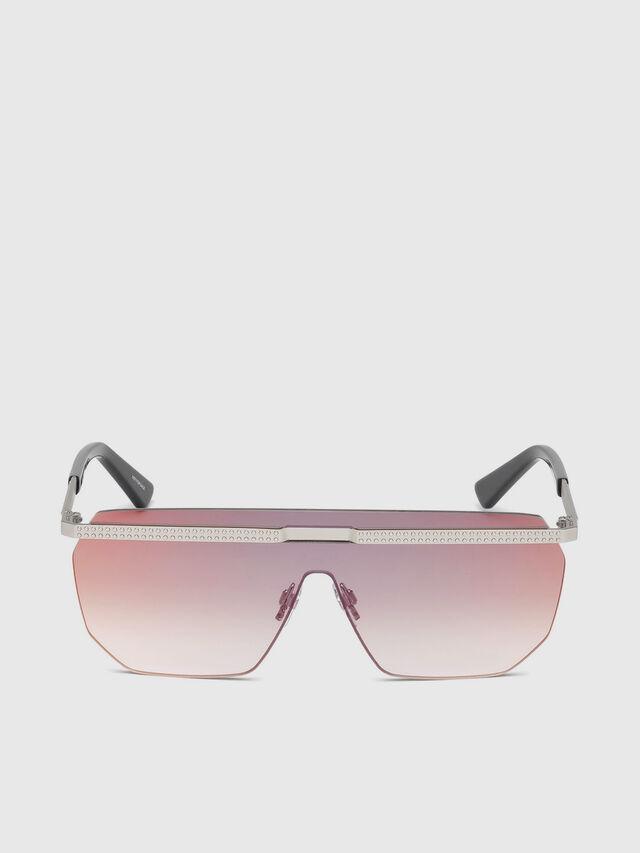 Diesel - DL0259, Pink - Sunglasses - Image 1