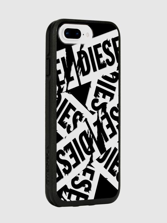 Diesel - MULTI TAPE BLACK/WHITE IPHONE 8 PLUS/7 PLUS/6S PLUS/6 PLUS CASE, Black - Cases - Image 6