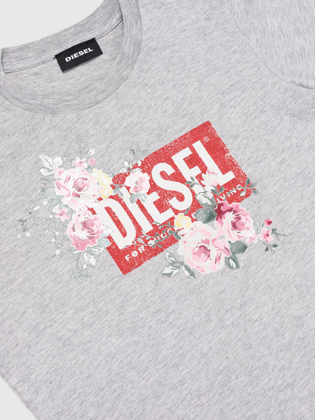 Diesel - TFLAVIA, Grey - T-shirts and Tops - Image 3