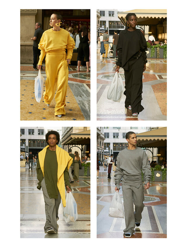 Diesel - GMPT02, Yellow - Pants - Image 3