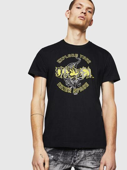 Diesel - T-DIEGO-B15, Black - T-Shirts - Image 1