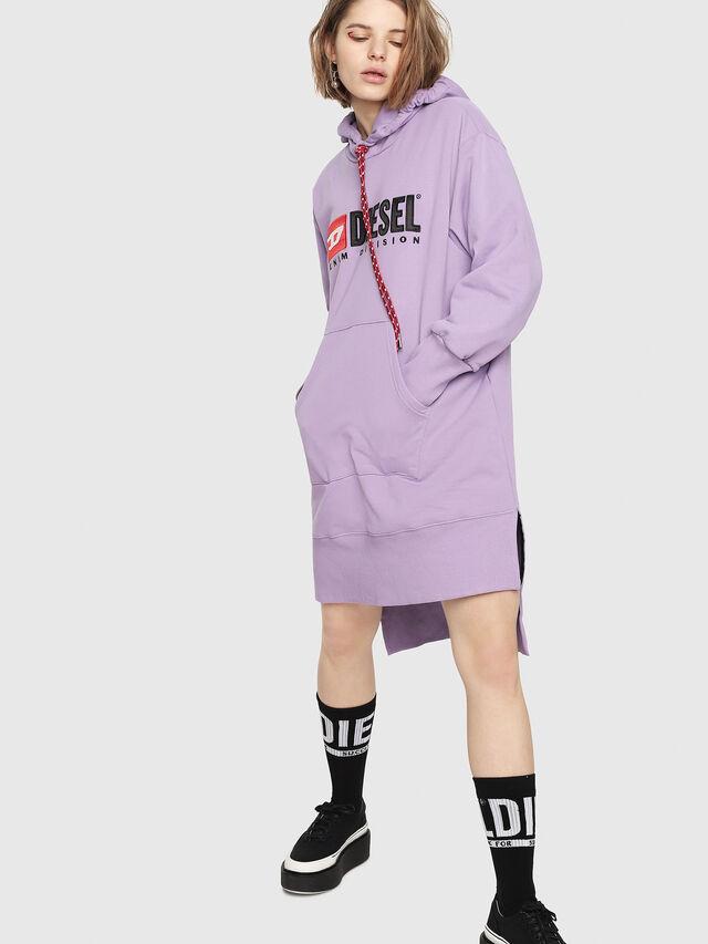 Diesel - D-ILSE-C, Lilac - Dresses - Image 1
