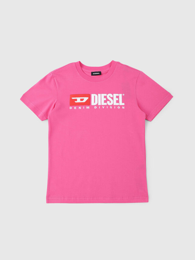 Diesel - TJUSTDIVISION, Hot pink - T-shirts and Tops - Image 1