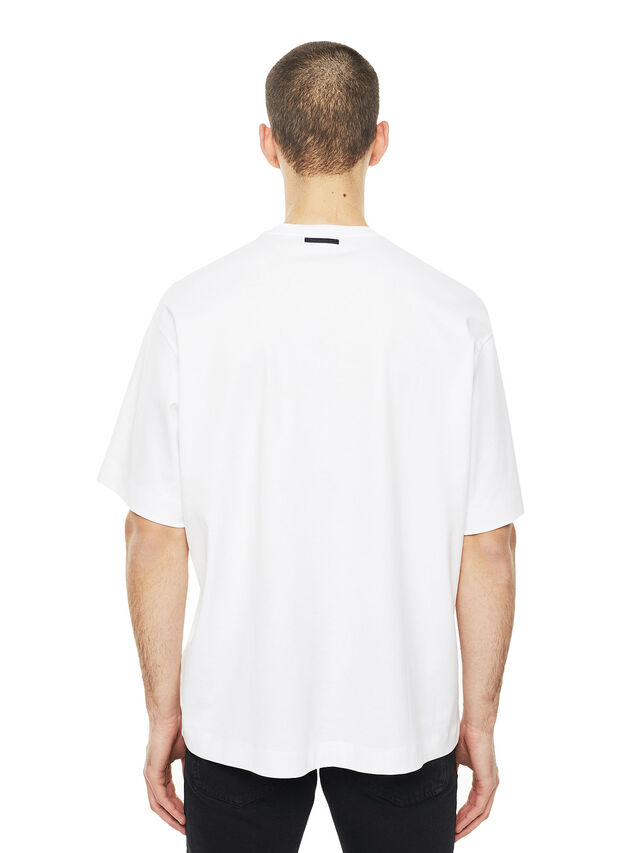 Diesel - TEORIA-TIEDYESQUARE, White - T-Shirts - Image 2