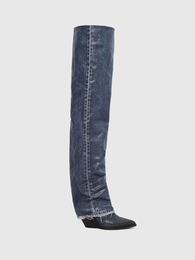 Diesel - D-WEST OTK, Blue Jeans - Boots - Image 1