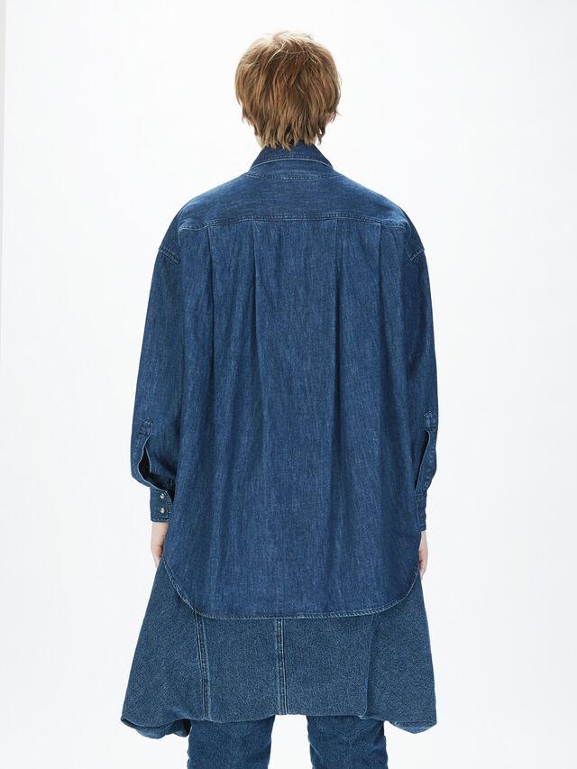 Diesel - SOTS01, Dark Blue - Shirts - Image 6