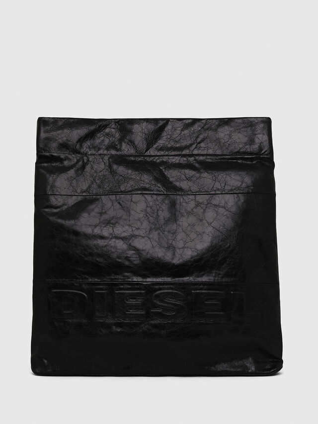 Diesel - F-LITT SHOPPER EW, Black - Clutches - Image 1