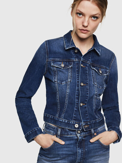 Diesel - DE-LIMMY, Blue Jeans - Denim Jackets - Image 1