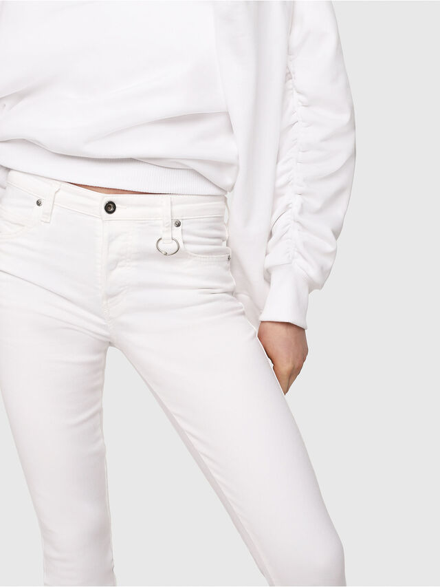 Diesel - Babhila 086AS, White - Jeans - Image 3