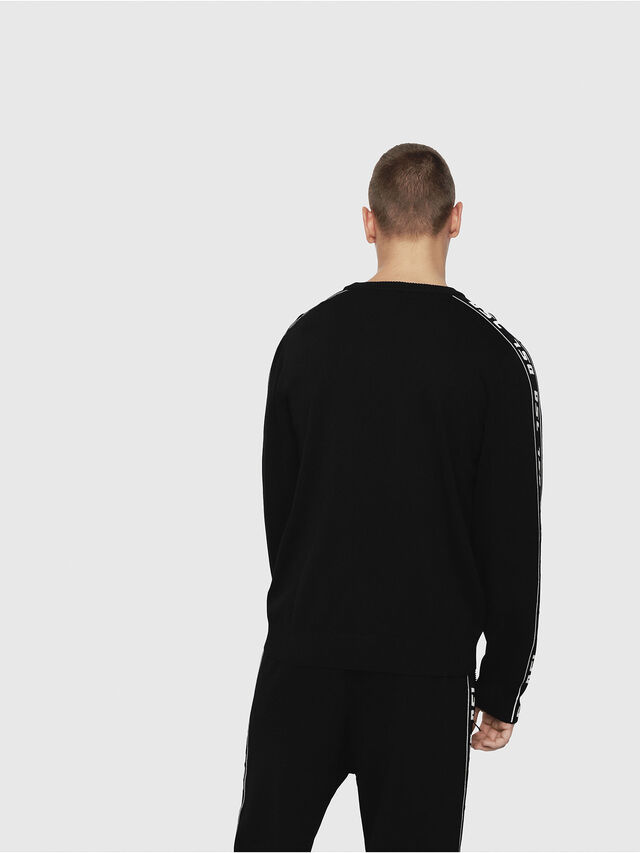 Diesel - K-TRACKY-A, Black - Knitwear - Image 2