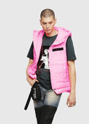 W-SUN-REV-SLESS, Pink Fluo - Winter Jackets