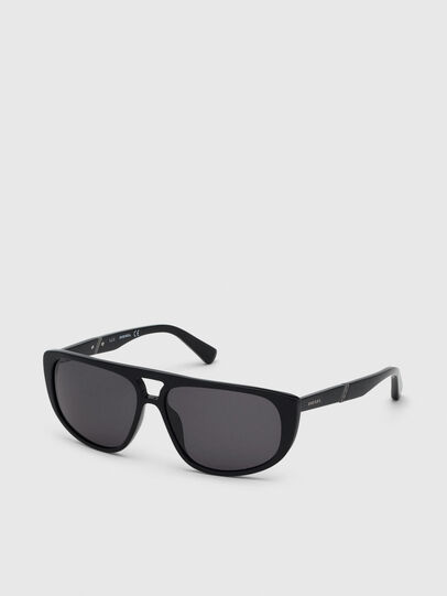 Diesel - DL0300, Black - Sunglasses - Image 2