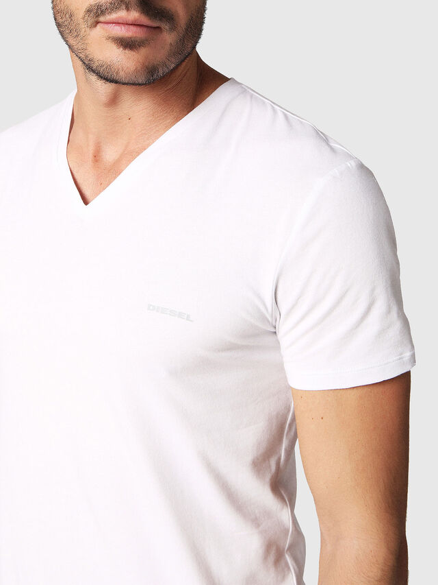 Diesel - UMTEE-MICHAEL2PACK, White - Tops - Image 4