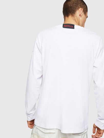 Diesel - LCP-T-JUST-LS-DENVER, White - T-Shirts - Image 3