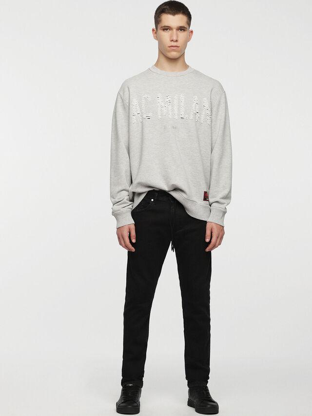 Diesel - DVL-SIFLA-CAPSULE, Light Grey - Sweaters - Image 3