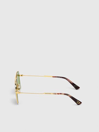 Diesel - DL0302, Gold - Sunglasses - Image 3
