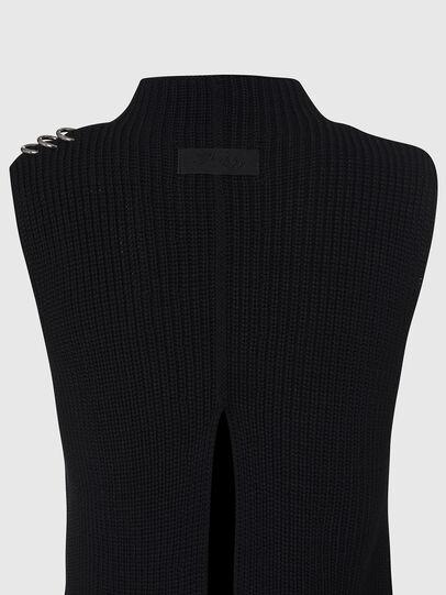 Diesel - M-ESSIE, Black - Knitwear - Image 4