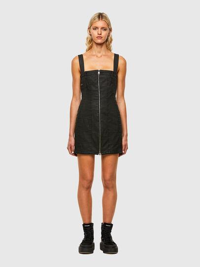 Diesel - DE-VOLCANO-SX, Black - Dresses - Image 1