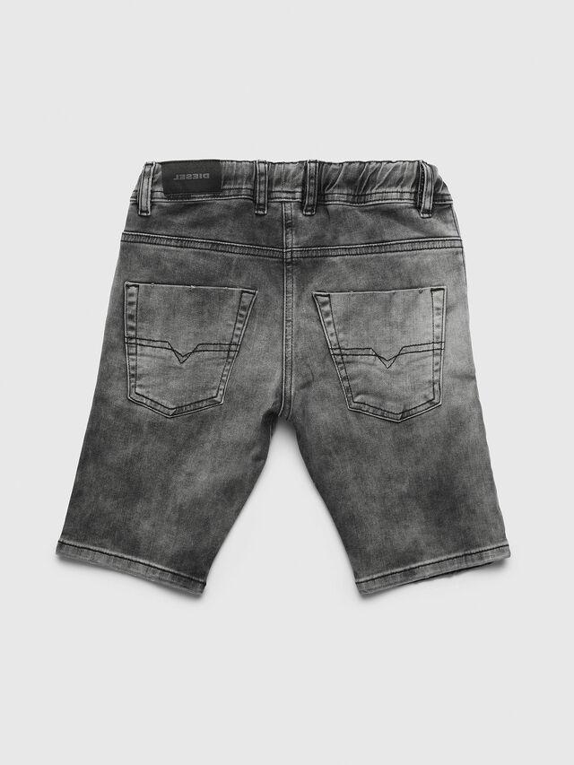 Diesel - PKROOLEYNE-CUT SH, Black/Grey - Pants - Image 2