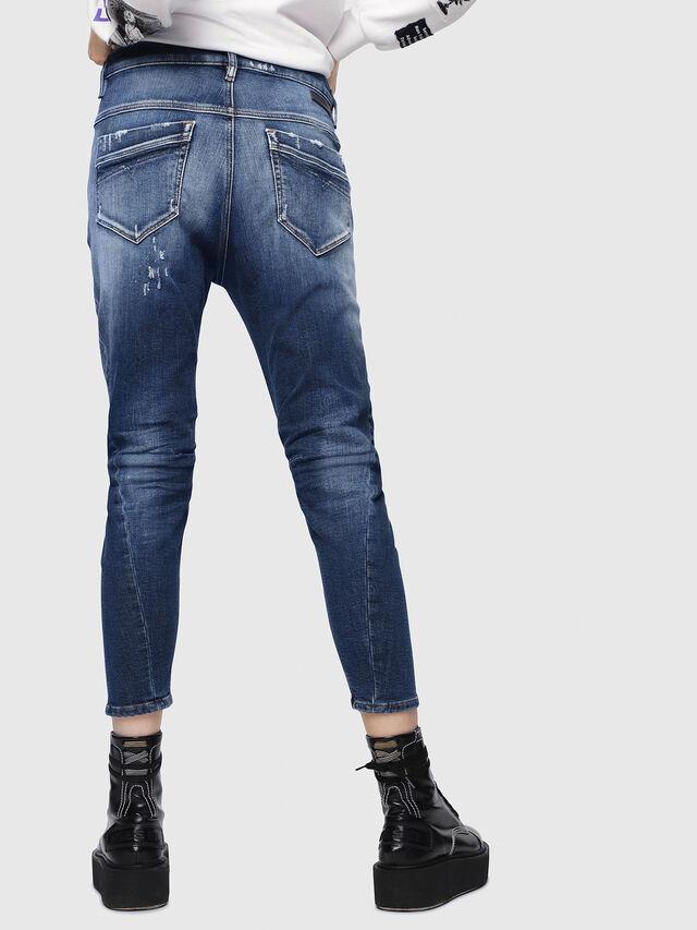 Diesel - Fayza JoggJeans 087AK, Medium blue - Jeans - Image 2