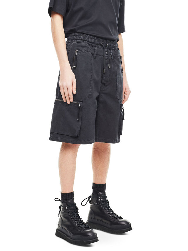 Diesel - PHILOS, Black - Shorts - Image 3