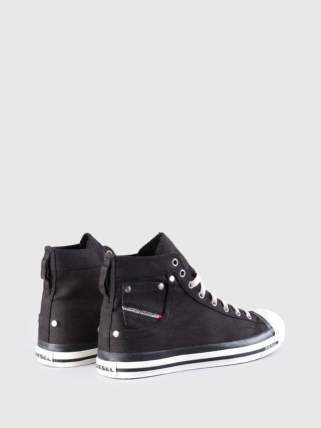 Diesel EXPOSURE, Black - Sneakers - Image 2