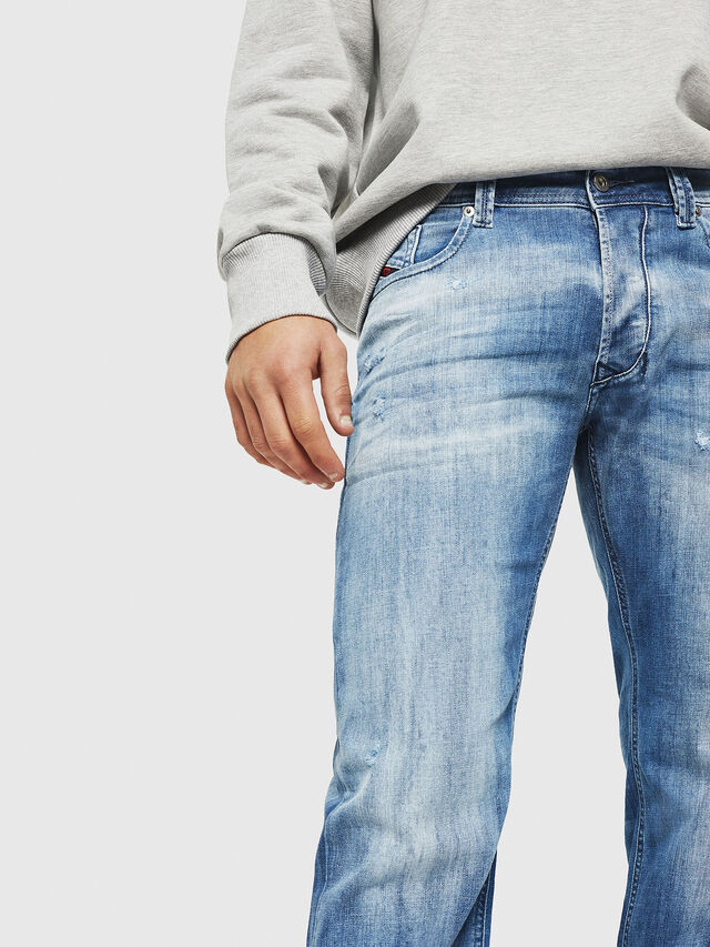 Diesel - Larkee 081AS, Medium blue - Jeans - Image 3