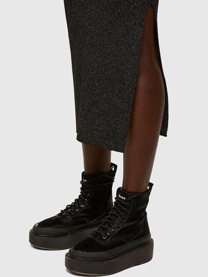 Diesel - M-AMETRINE, Black - Dresses - Image 5