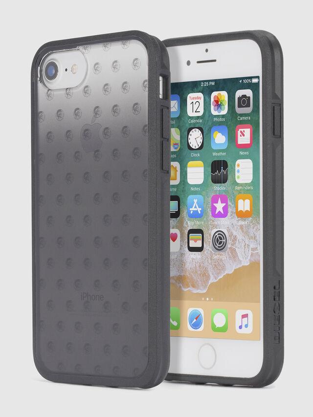 Diesel MOHICAN HEAD DOTS BLACK IPHONE 8 PLUS/7 PLUS/6s PLUS/6 PLUS CASE, Black - Cases - Image 1