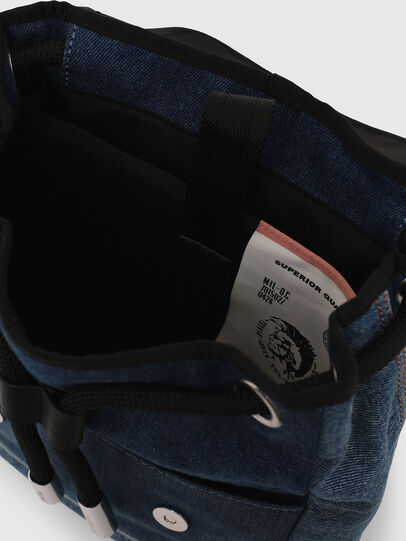 Diesel - DENIPACK, Blue Jeans - Backpacks - Image 5