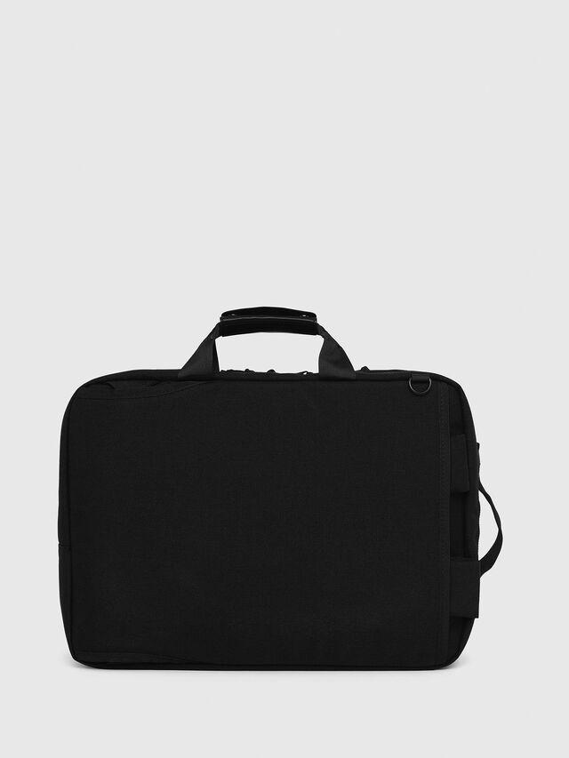Diesel F-URBHANITY BRIEFCAS, Black - Briefcases - Image 2