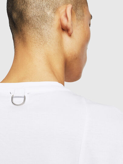 Diesel - T-TOMI, White - T-Shirts - Image 5