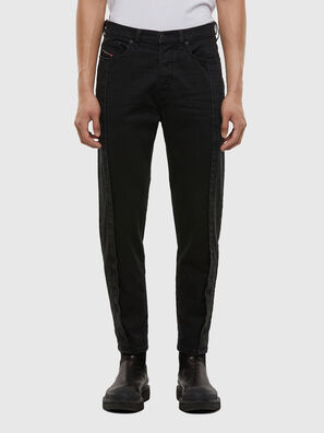 D-Vider 009LA, Black/Dark grey - Jeans