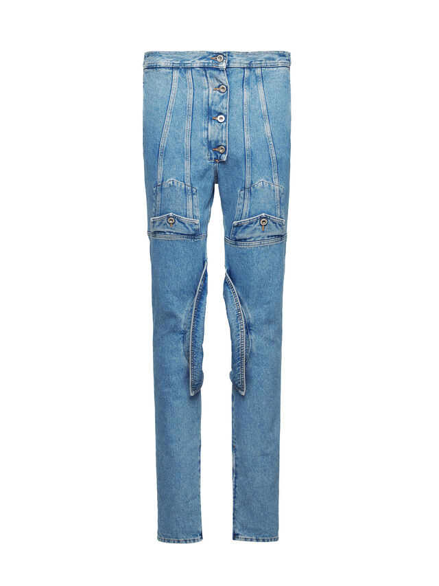 Diesel - SOJP01, Light Blue - Pants - Image 1