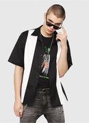 S-KINGI, Black/White - Shirts