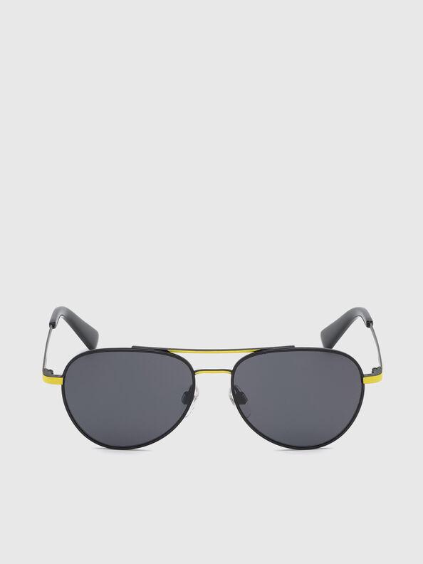 DL0291, Black/Yellow - Kid Eyewear