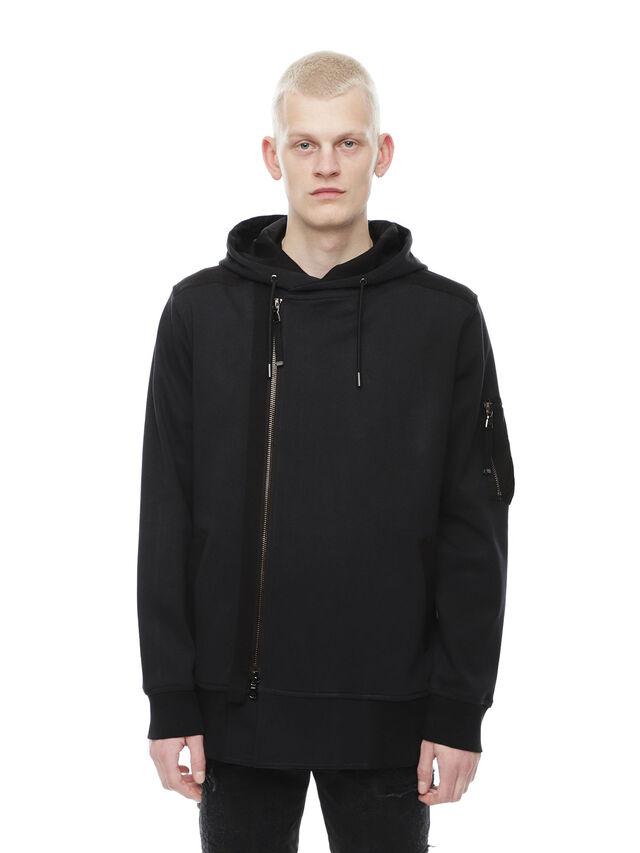 Diesel - SIRO, Black - Sweaters - Image 1