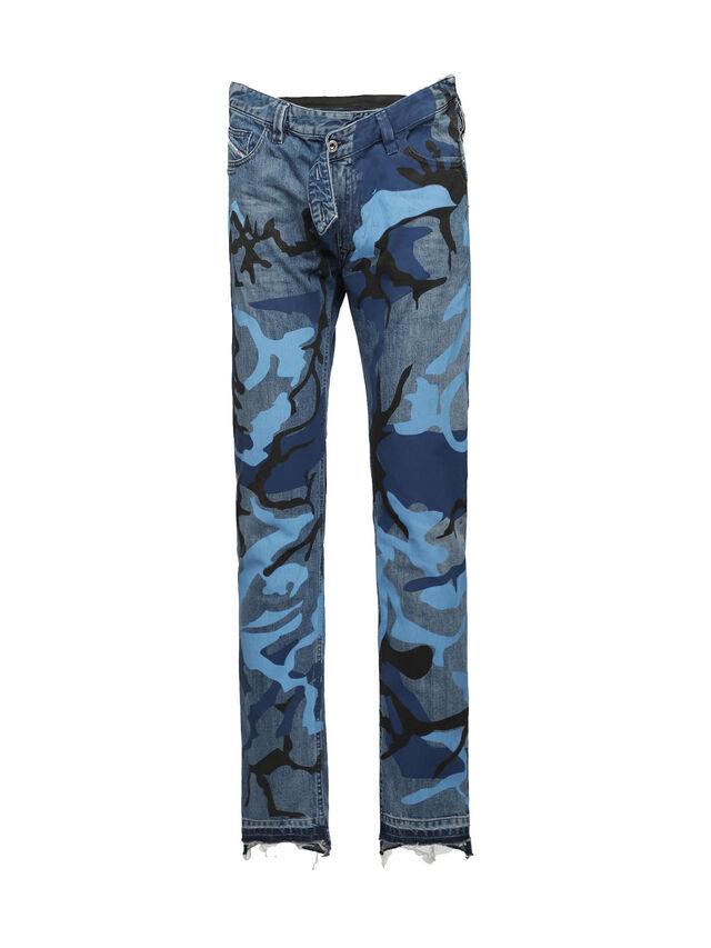Diesel - SOPKN01, Melange Blue - Jeans - Image 1