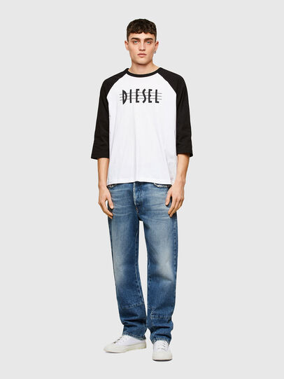 Diesel - T-BEISBOL, White - T-Shirts - Image 4