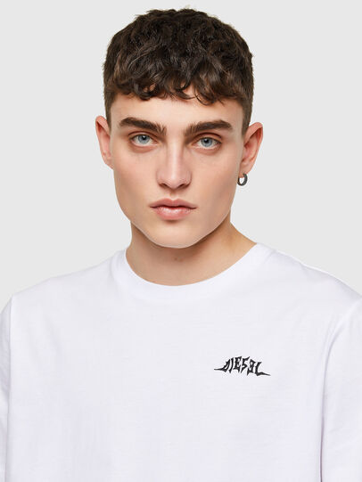 Diesel - T-JUST-E15, White - T-Shirts - Image 3