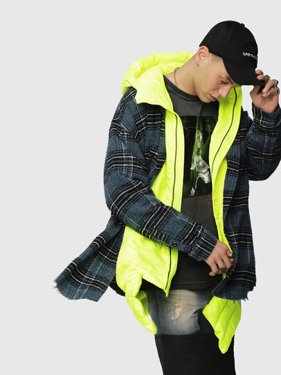 Diesel - W-SUN-REV-A,  - Winter Jackets - Image 3