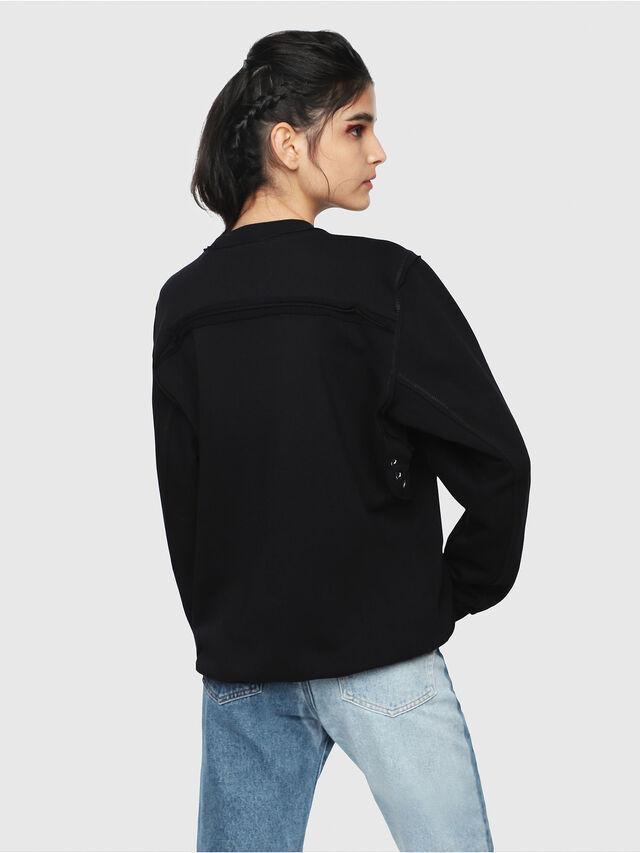 Diesel - F-LYANY-B, Black - Sweaters - Image 2