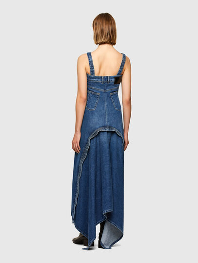 Diesel - DRINA, Medium blue - Dresses - Image 2